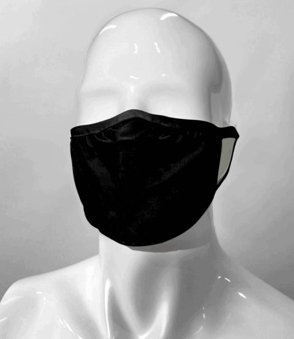 Masque Facial Noir Lavable «NON MÉDICAL»
